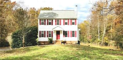 Goochland Single Family Home For Sale: 4582 Newline Road