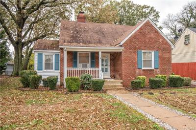 Richmond Single Family Home For Sale: 4513 Welford Avenue