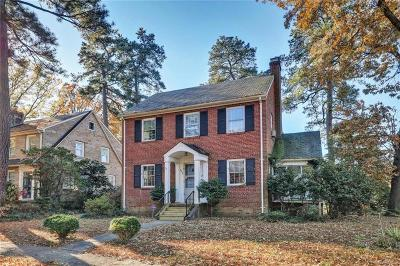 Richmond Single Family Home For Sale: 5032 Sylvan Road