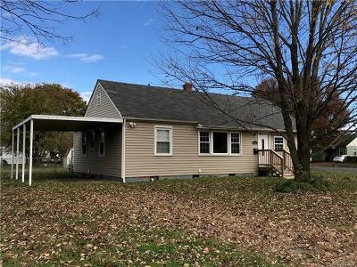 Richmond Single Family Home For Sale: 3212 Williamsburg Road