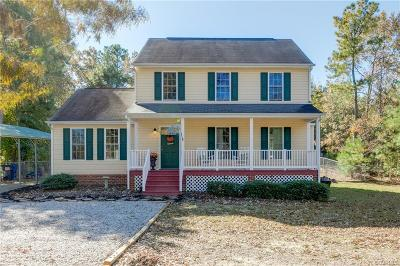 Chesterfield Single Family Home For Sale: 10431 Chesdin Ridge Drive