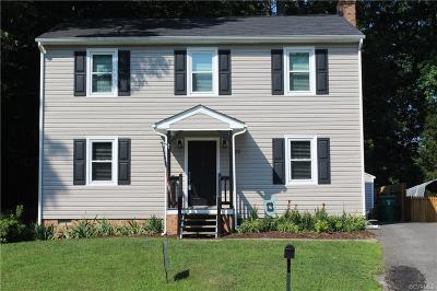 Colonial Heights VA Single Family Home For Sale: $199,500