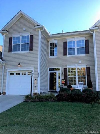 Midlothian Condo/Townhouse For Sale: 14809 Watermill Lake Trail