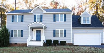 Chester Single Family Home For Sale: 11812 Parrish Creek Lane