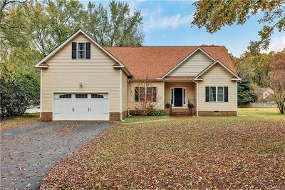 Chester VA Single Family Home For Sale: $278,900