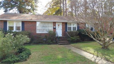 Colonial Heights VA Single Family Home For Sale: $129,900