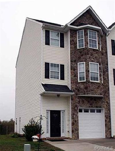 Hopewell Condo/Townhouse For Sale: 3911 Schooner Lane