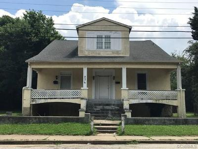 Petersburg Single Family Home For Sale: 936 Lee Avenue