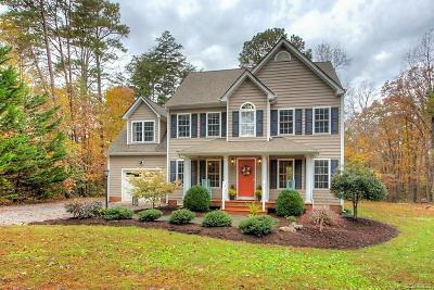 Hanover County Single Family Home For Sale: 15219 Dunn Road