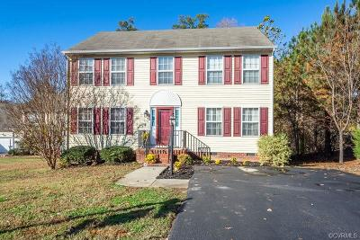 Chester Single Family Home For Sale: 7143 Windy Creek Circle
