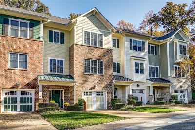Richmond Condo/Townhouse For Sale: 9519 Creek Summit Circle