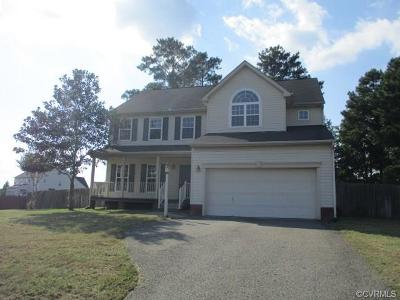 Richmond Single Family Home For Sale: 7905 Point Hollow Drive