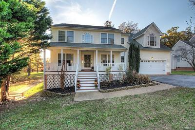 Chester Single Family Home For Sale: 1513 Walthall Creek Drive