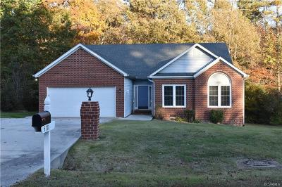 Chesterfield County Rental For Rent: 5711 Meadowood Lane