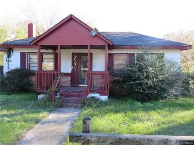 Hopewell Single Family Home For Sale: 1125 Delaware Avenue