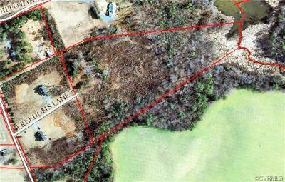 Hanover County Residential Lots & Land For Sale: Freedoms Lane