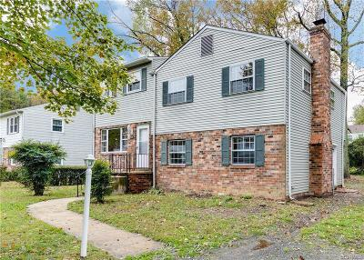 Henrico Single Family Home For Sale: 206 Carlstone Drive