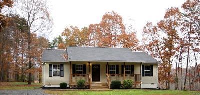 Louisa Single Family Home For Sale: 1243 Vawter Corner Road