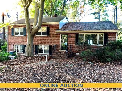 Richmond Single Family Home For Sale: 5904 Shrubbery Hill Road