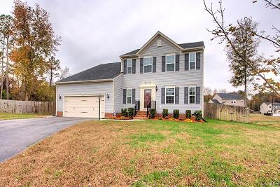 Chester Single Family Home For Sale: 10012 Ethens Castle Drive