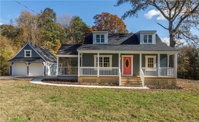 Chester Single Family Home For Sale: 4013 Newbys Bridge Road
