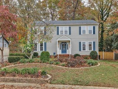 Chesterfield County Single Family Home For Sale: 4518 Sourwood Lane