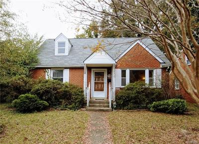 Richmond Single Family Home For Sale: 1928 Maple Shade Lane