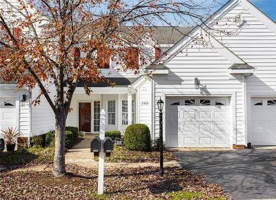 Chesterfield County Condo/Townhouse For Sale: 2305 Magnolia Grove Way