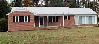 Mechanicsville Single Family Home For Sale: 7416 Ewell Road