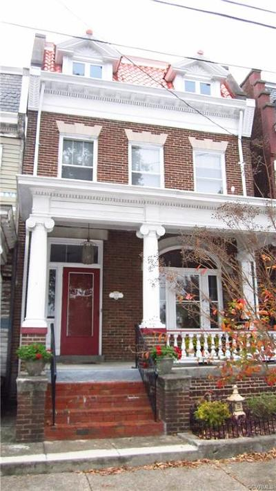 Richmond Single Family Home For Sale: 3416 East Broad Street