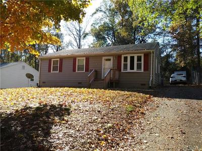 Chester VA Single Family Home For Sale: $139,500