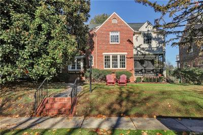 Richmond Single Family Home For Sale: 3922 West Franklin Street