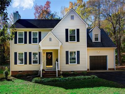 Midlothian Single Family Home For Sale: 6104 Duck Cove Road