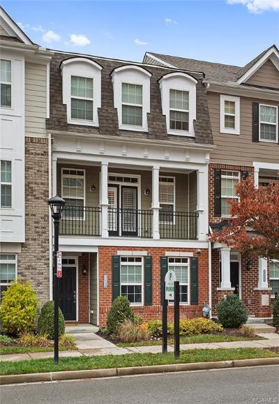 Henrico County Condo/Townhouse For Sale: 3914 Brownstone Boulevard