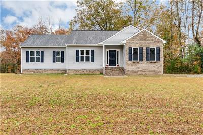 Richmond Single Family Home For Sale: 4917 Sweeney Circle