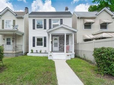 Richmond Single Family Home For Sale: 628 Arnold Avenue
