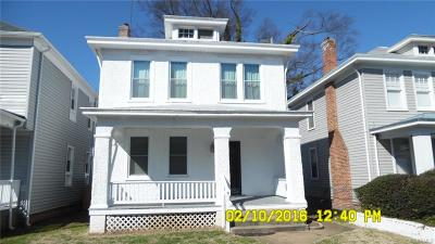 Richmond Single Family Home For Sale: 3412 Delaware Avenue