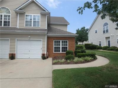 Chesterfield County Condo/Townhouse For Sale: 608 Hazeltine Court #608