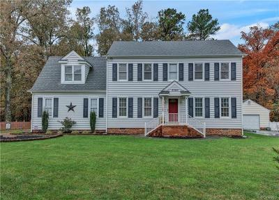 Chesterfield County Single Family Home For Sale: 8300 Sir Lionel Place