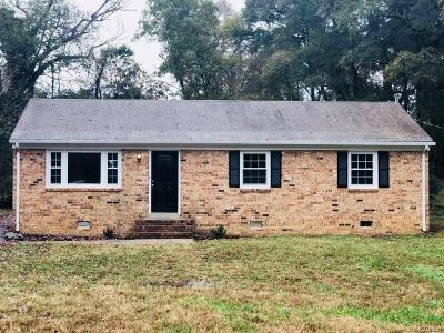 Chesterfield Single Family Home For Sale: 2502 Alcott Road