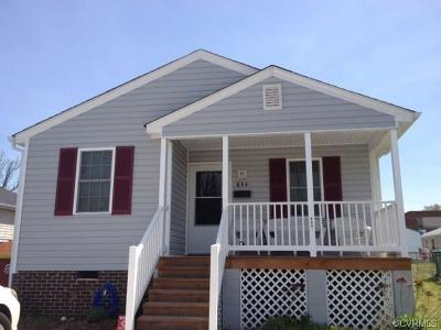 Petersburg Single Family Home For Sale: 844 Miller Street