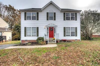Richmond Single Family Home For Sale: 4009 Darton Court