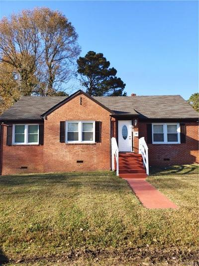 Chesterfield Single Family Home For Sale: 3600 Totty Street