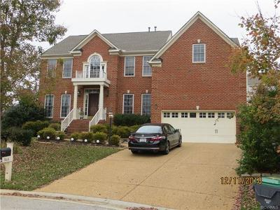 Chesterfield Single Family Home For Sale: 14614 Charter Walk Place