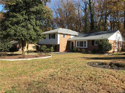 Richmond Single Family Home For Sale: 3101 Archdale Road