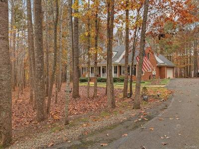 Powhatan County Single Family Home For Sale: 2850 Maple Grove Lane