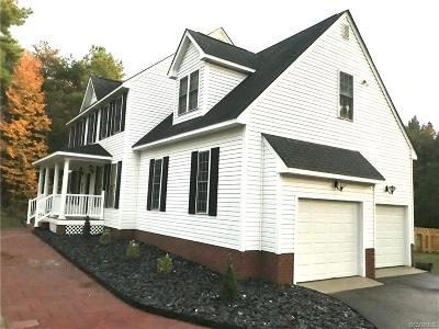 Goochland County Single Family Home For Sale: 3603 Brandons Bluff Court