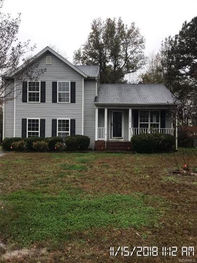 Henrico Single Family Home For Sale: 5020 Cedar Fork Terrace