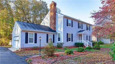 Chesterfield County Single Family Home For Sale: 617 Quarterpath Lane