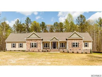 Hanover County Single Family Home For Sale: 6316 Glebe Hill Road